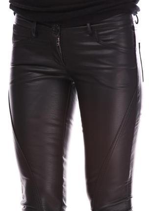 Benetton супер брюки кожа супер цена арт.060 последние хс - л