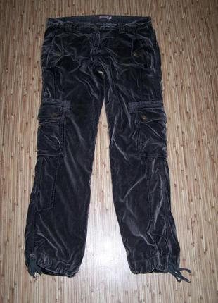 60грн со скид!брюки велюровые pepe jeans пот-42см