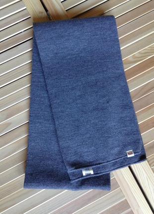 Шикарный серый шарф