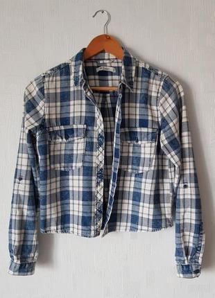 Короткая рубашка collins