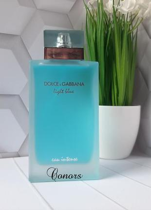 Уценка 💙оригинал 💙100 мл dolce&gabbana light blue eau intense