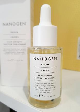 Nanogen сыворотка  с пептидами для  роста волос + против выпадения!