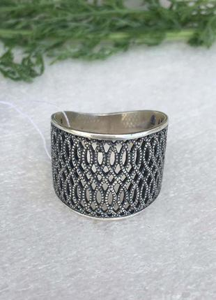Кольцо серебряное жардин 1231