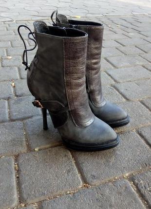 Кожаные ботиночки christian dior