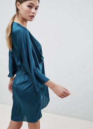 Платье кимоно сатиновое asos