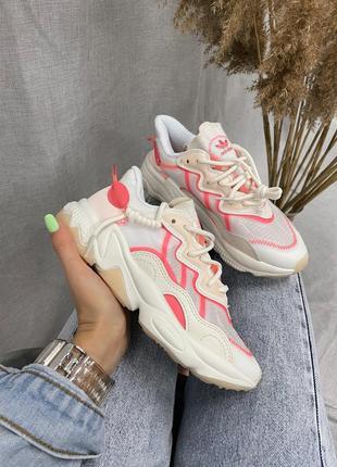 Adidas ozweego adiprene cream pink 💕