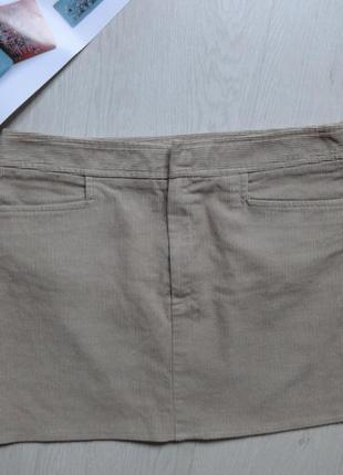 Вельветовая юбочка zara