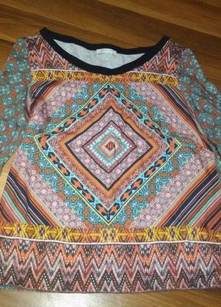 Котоновая блуза promod