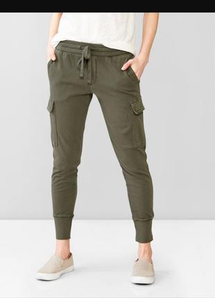 Зауженые штаны брюки спорт спортивные хаки