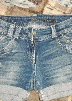 Шорты  джинсовые, m, 10 размер