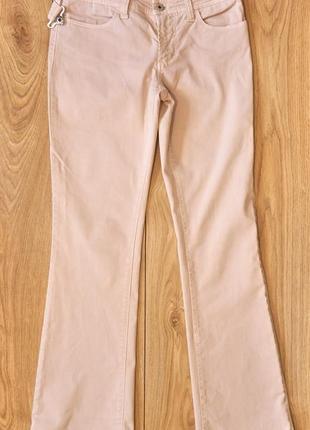Вінтажні світлі штани dolce & gabbana