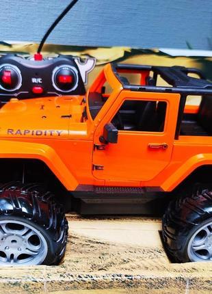 Джип crazy racing orange на радиоуправлении