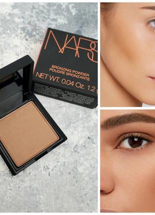 Бронзер nars bronzing powder