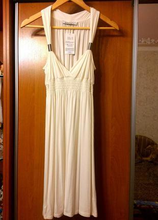 Белоснежное платье в греческом стиле новое!