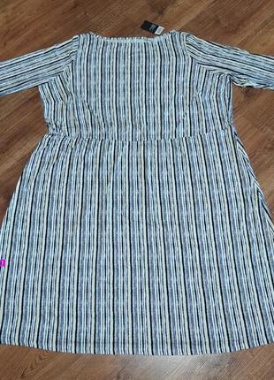 Супер батал грудь 140+см платье женское из мягкой вискозы р.хl и xxxl от esmara, германия