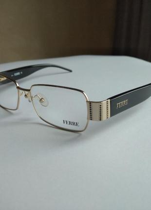 Распродажа фирменная оправа под линзы,очки оригинал g.ferre gf319 01