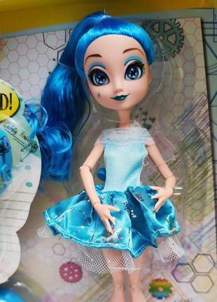 """Интерактивная кукла """"kaibibi"""" blue с гиробордом на радио управлении"""