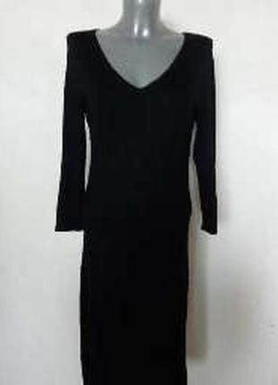 Платье трикотажное с длинными рукавами р.l