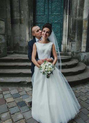 Весільна сукня від оксани мухи