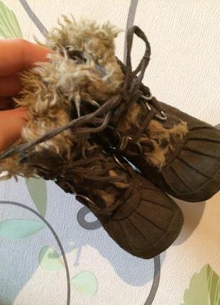 Пинетки ботинки сапожки mexx