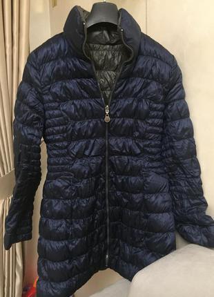 Пуховик, куртка, пальто bebe, двустороннее, р.s!