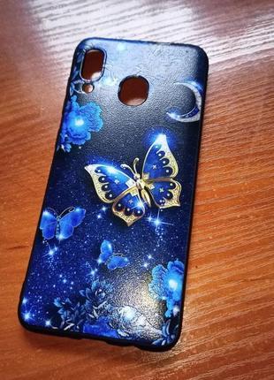 Samsung galaxy phone case а30 / а20 чехол самсунг тпу мягкий