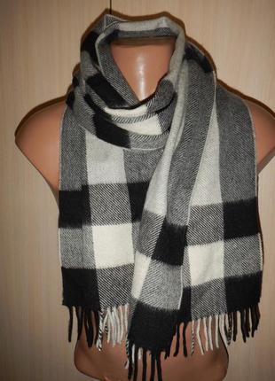 Кашемировый шарф edsor kronen 100% кашемир