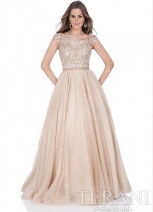 Вечернее / выпускное платье terani couture