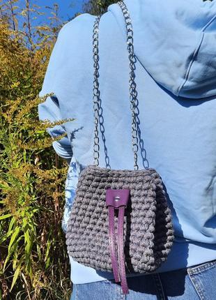 Маленькая сумка-торба