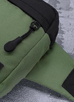 Поясная сумка famk r3 khaki black7 фото