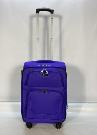 Чемодан польша 🇵🇱 4 колеса фиолетовый