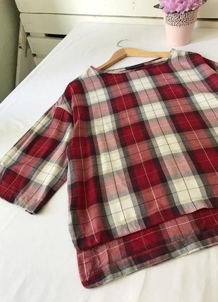 Блуза, кофточка в клетку