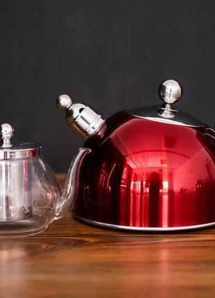 Чайник для плити cheffler 60178