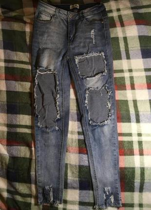 Джинсы порванные рваные blue rags, levis, lee ,wrangler