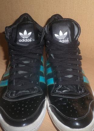 Новые! фирменные женские кроссовки кеды adidas оригинал! 37-38рр