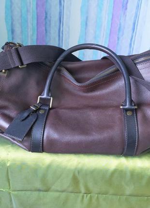 Дорожная сумка , кожа