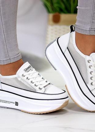 ✨ женские кросовочки на утолщеной подошве ✨