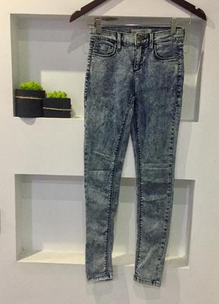 Крутые  синие джинсы варёнка topshop