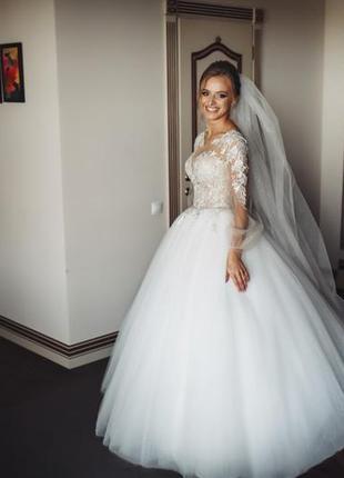 Весільна сукня, свадебное платье👰🏼
