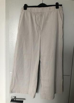 Кюлоты брюки в пижамном стиле opus