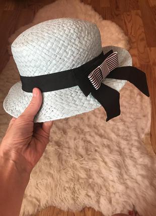 Шляпа канатье
