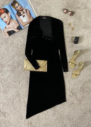 Распродажа!!! роскошное вечернее бархатное платье №376