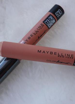 Помада-карандаш для губ maybelline color drama 630