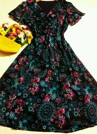 Красивое платье 12 размер