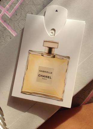 Chanel gabrielle оригинал духи парфюм пробник 0,3 ml