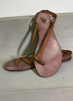 Босоножки сандалии из натуральной кожи