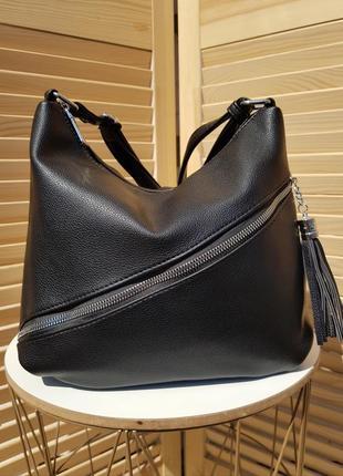 Красивая небольшая женская сумка кроссбоди сумка мешок