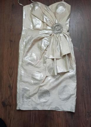 Нарядное платье бюсте