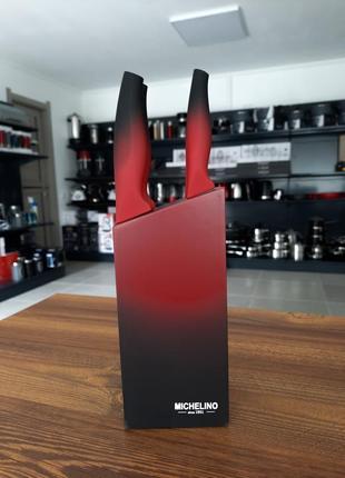 Набір ножів з нержавіючої сталі miсhelino 47017