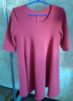 Платье свободного кроя для беременных